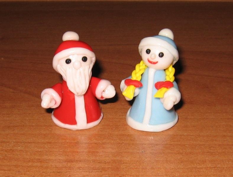 Снегурочка своими руками из глины 43